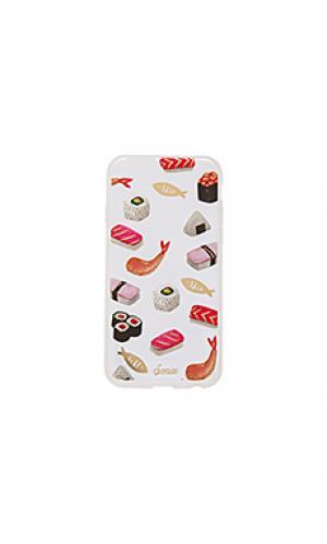 Чехол для iphone 6/6s sushi Sonix. Цвет: розовый