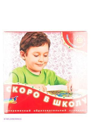 Игра-электровикторина Скоро в школу Дрофа-Медиа. Цвет: красный
