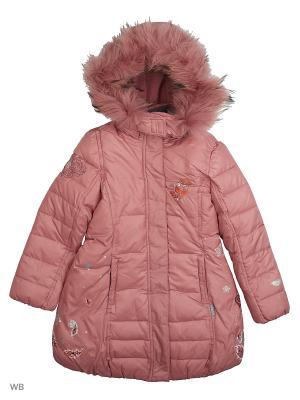 Пальто Arista. Цвет: светло-коралловый