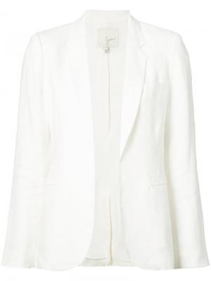 Пиджак без застежек Joie. Цвет: белый
