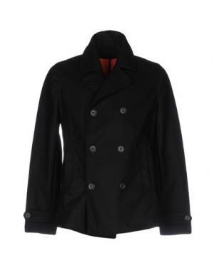Пальто N° 4 FOUR. Цвет: черный