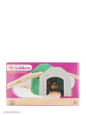 Игровой набор Тоннель Eichhorn. Цвет: зеленый, серый, бежевый