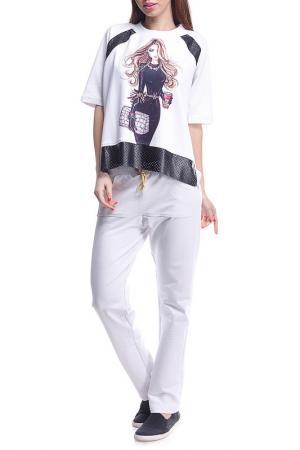 Костюм: джемпер, брюки Majaly. Цвет: мультиколор
