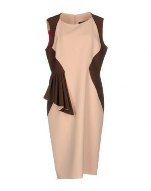 Платье до колена IVAN MONTESI. Цвет: розовый