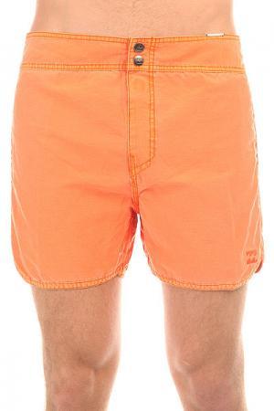 Шорты пляжные  Kresson 15 Neo Orange Billabong. Цвет: оранжевый