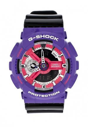 Часы Casio. Цвет: разноцветный