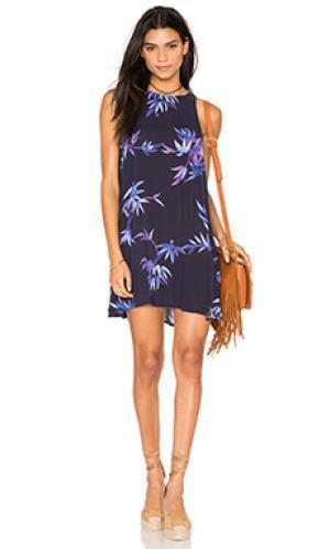Платье anya Rails. Цвет: синий