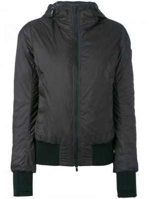 Куртка Dore с капюшоном и наполнителем Canada Goose. Цвет: чёрный