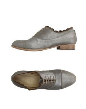 Обувь на шнурках INK. Цвет: бронзовый