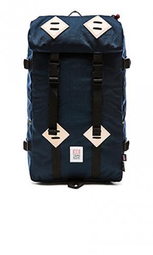 Рюкзак 22l klettersack TOPO DESIGNS. Цвет: синий