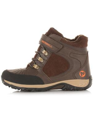 Ботинки MERRELL. Цвет: коричневый, оранжевый