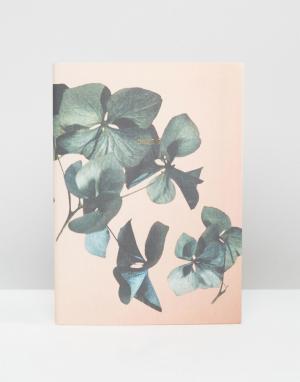 OHH DEER Еженедельник 2017 персикового цвета с цветочным принтом. Цвет: мульти