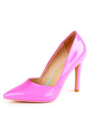 Туфли Riccorona. Цвет: розовый