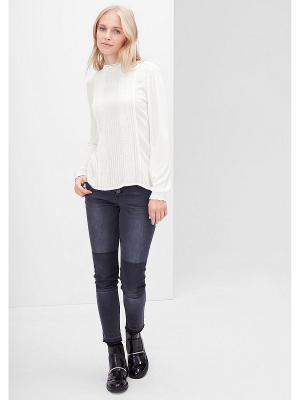 Блузка S.OLIVER. Цвет: кремовый