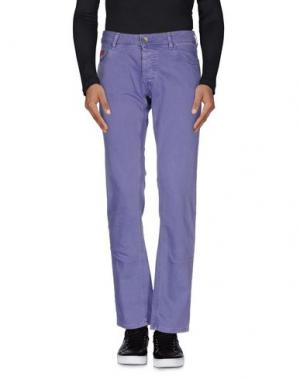 Джинсовые брюки UNLIMITED. Цвет: розовато-лиловый