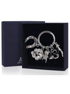 Брелок для ключей На удачу+футляр АргентА. Цвет: серебристый