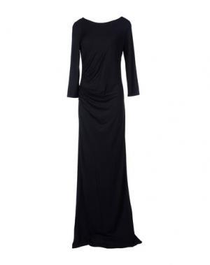 Длинное платье PATRIZIA PEPE. Цвет: черный