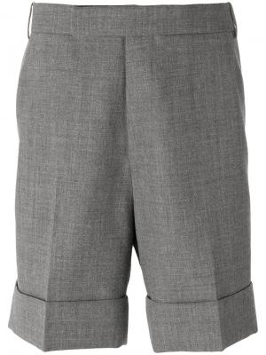 Chino shorts Thom Browne. Цвет: серый