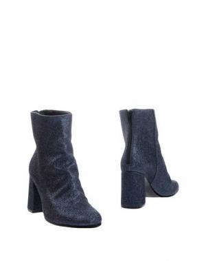 Полусапоги и высокие ботинки ELIANA BUCCI. Цвет: стальной серый