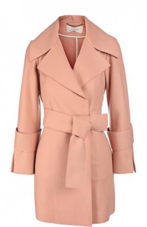 Куртка с поясом Dorothee Schumacher. Цвет: розовый
