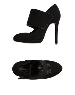 Туфли GENEVE. Цвет: черный