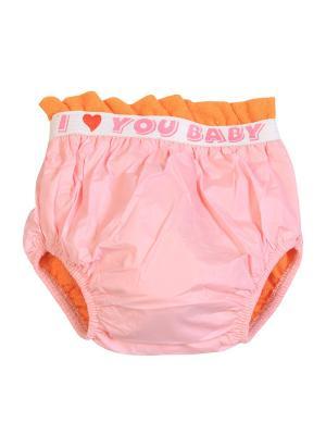 Трусы-непромокайки для приручения к горшку M-BABY. Цвет: розовый, оранжевый
