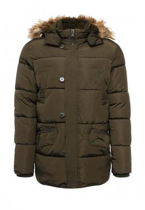 Куртка утепленная Bruebeck. Цвет: хаки