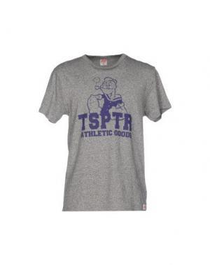 Футболка TSPTR. Цвет: серый
