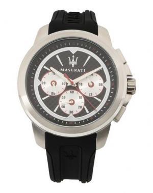 Наручные часы MASERATI. Цвет: черный