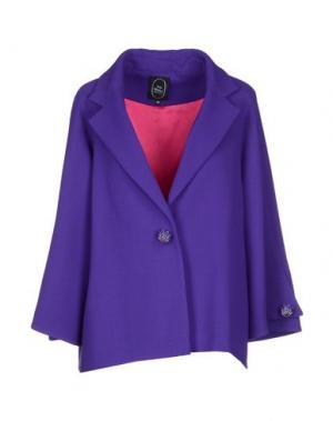 Пиджак IVAN MONTESI. Цвет: фиолетовый