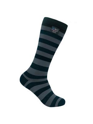 Водонепроницаемые носки DexShell Longlite Grey. Цвет: серый, черный