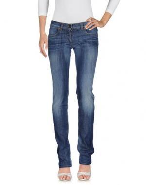 Джинсовые брюки UZÈS. Цвет: синий