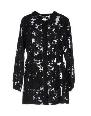 Легкое пальто CHIARA D'ESTE. Цвет: черный