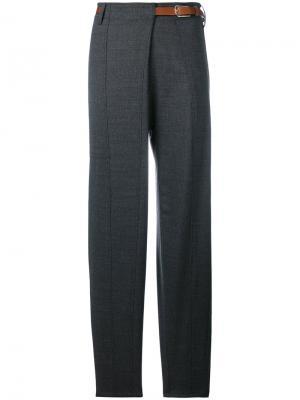 Свободные строгие брюки Barena. Цвет: серый