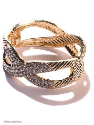 Браслет Lovely Jewelry. Цвет: золотистый, серебристый