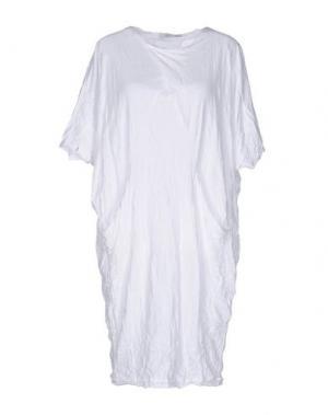 Короткое платье OBLIQUE CREATIONS. Цвет: белый