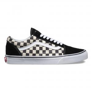 Кеды Checkerboard Old Skool VANS. Цвет: чёрный/белый