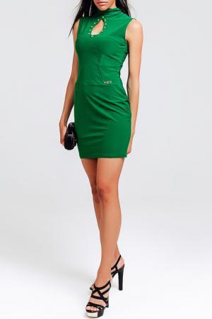 Платье BEZKO. Цвет: зеленый