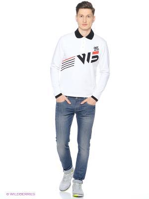 Рубашка поло W5. Цвет: белый