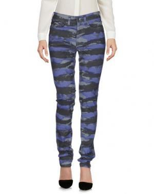 Повседневные брюки DR. DENIM JEANSMAKERS. Цвет: светло-серый