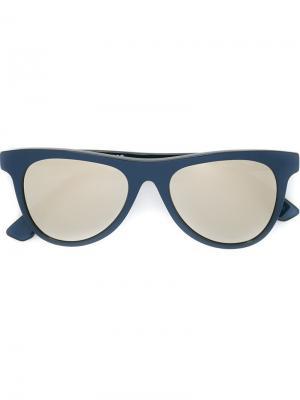 Солнцезащитные очки Man Metallic III Retrosuperfuture. Цвет: синий