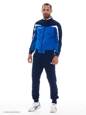 Спортивный костюм SUIT TEST ASICS. Цвет: темно-синий, голубой