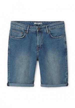 Шорты джинсовые Mango Man. Цвет: синий