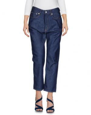 Джинсовые брюки COVERT. Цвет: синий