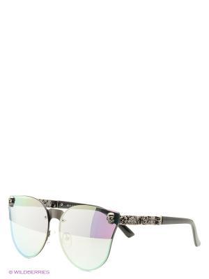 Солнцезащитные очки Vita pelle. Цвет: зеленый, розовый