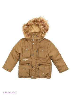 Куртка Babycollection. Цвет: оливковый