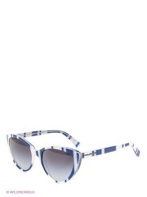 Очки солнцезащитные DOLCE & GABBANA. Цвет: синий