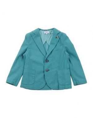 Пиджак ALETTA. Цвет: зеленый