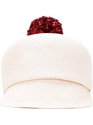 Шляпа Hyperion Macgraw. Цвет: белый