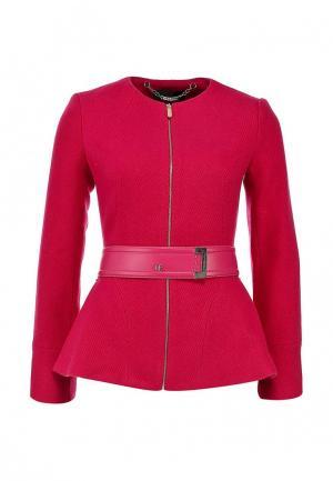 Куртка Love Republic. Цвет: розовый